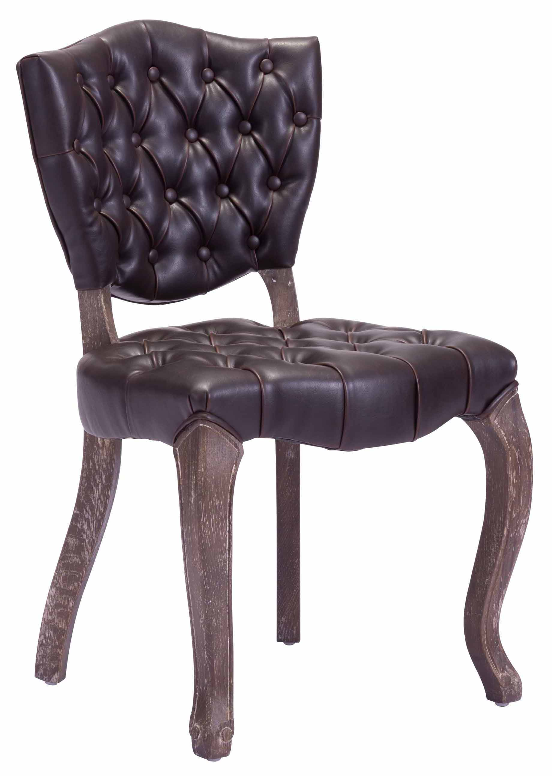 leavenworth dining chair brown