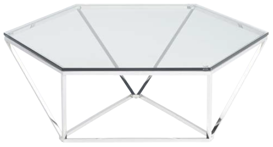 nuevo living louisa coffee table stainless steel