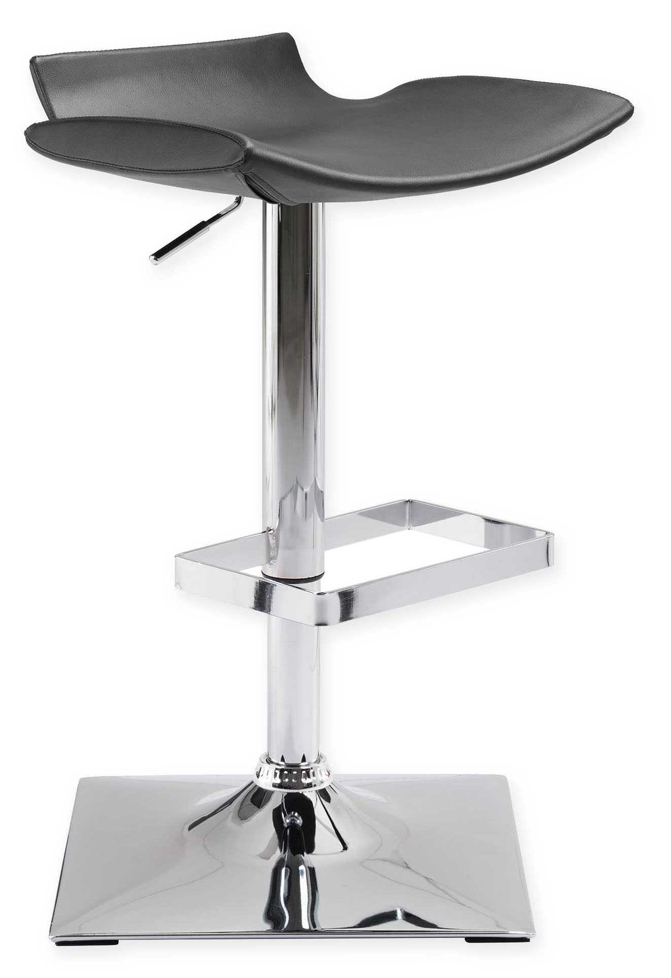 zuo modern magi bar chair black
