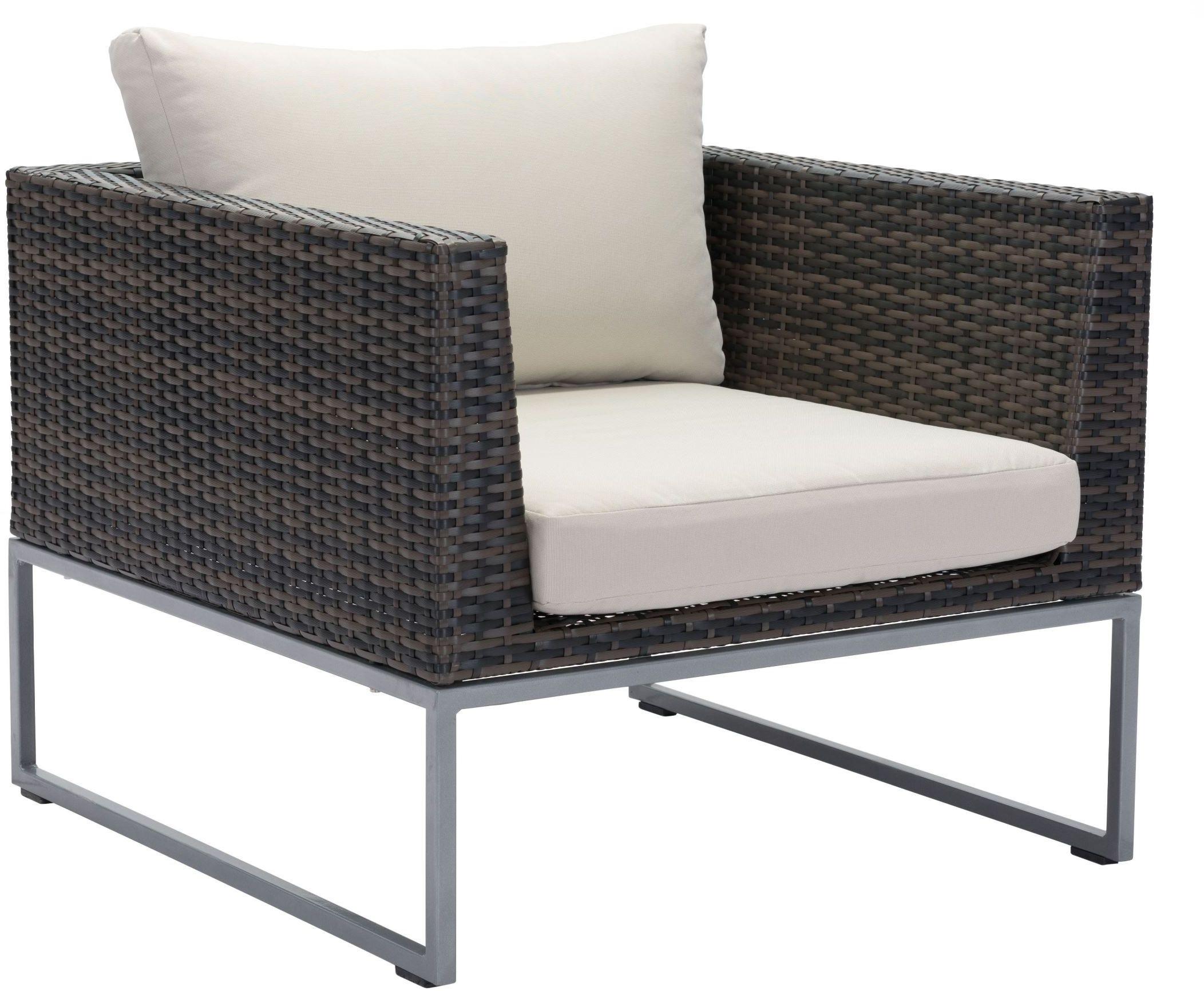 malibu arm chair brown beige
