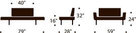 measurements zeal brass