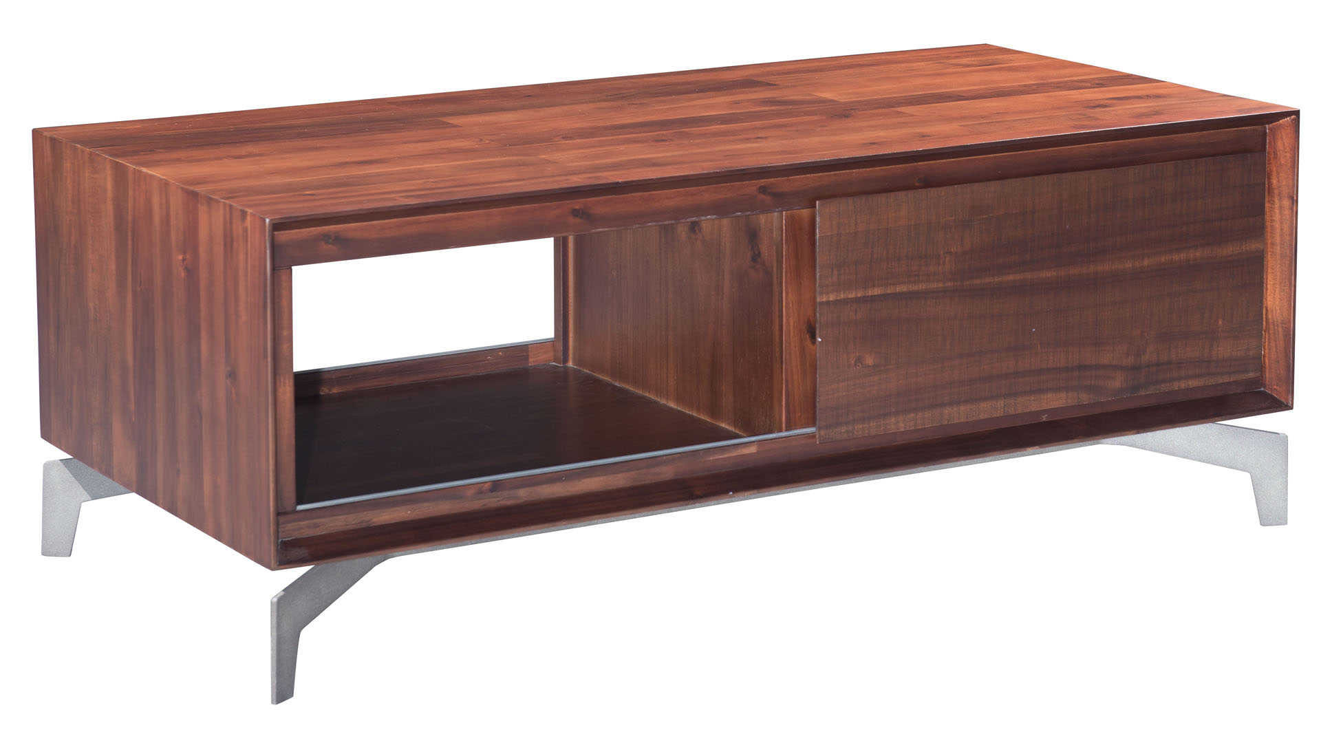 zuo modern perth coffee table chestnut