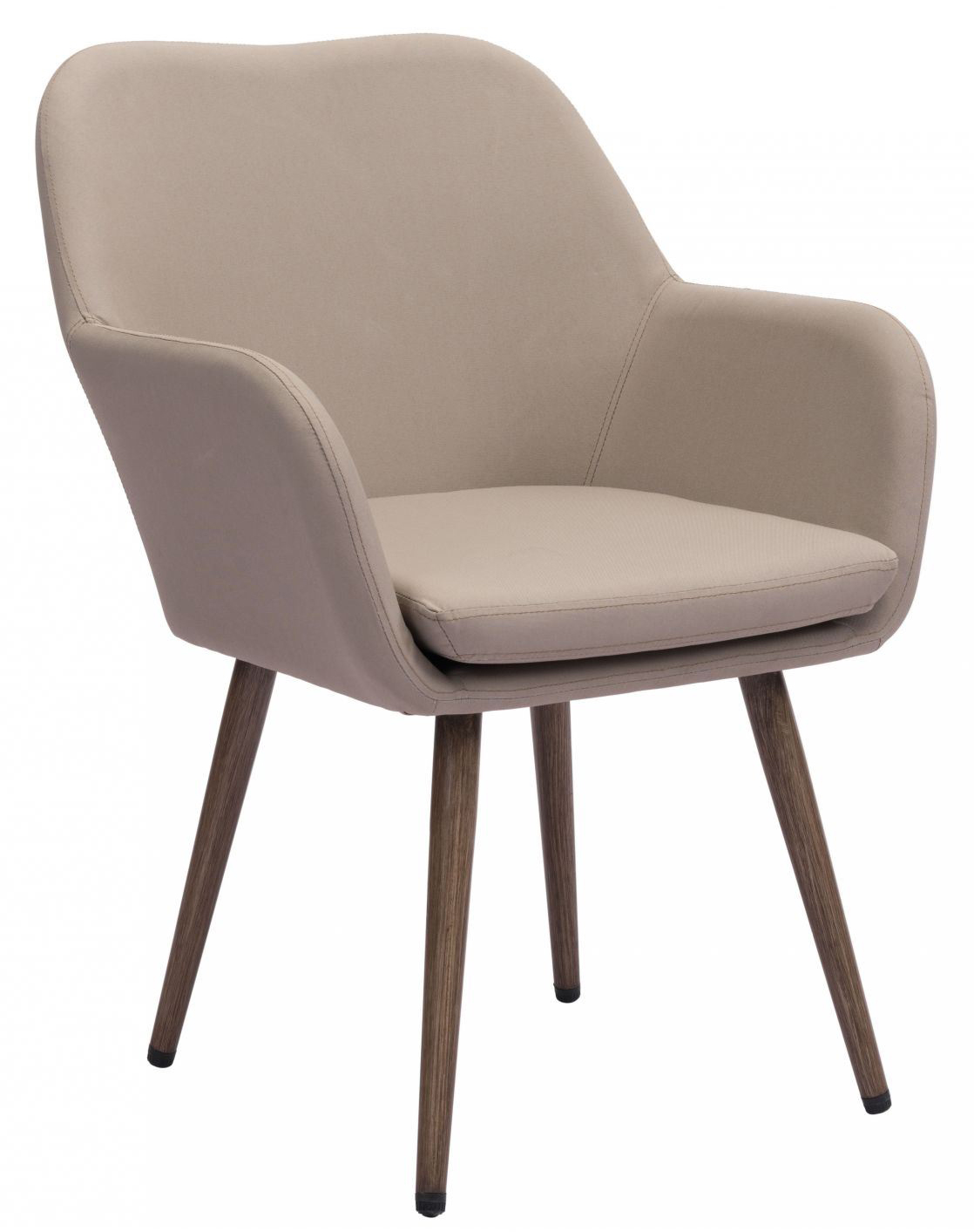 zuo pismo dining chair taupe
