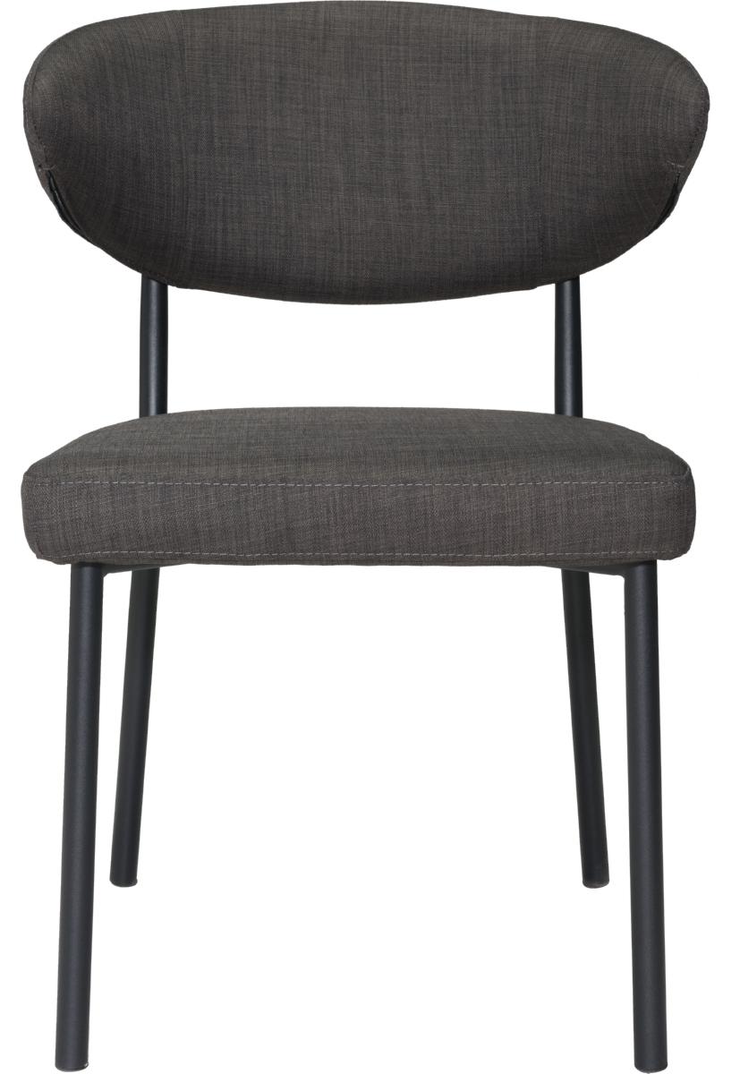 zuo pontus dining chair black