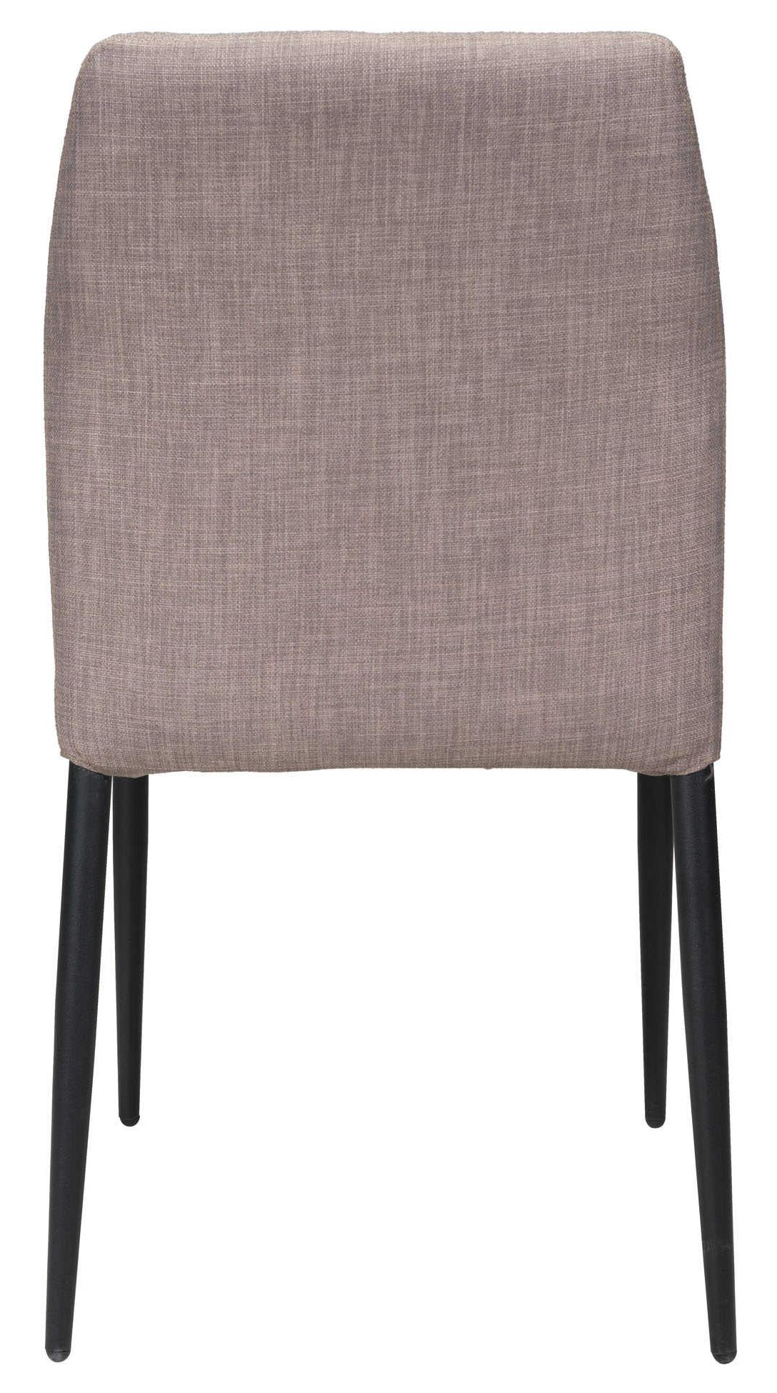 revolution dining chair light gray