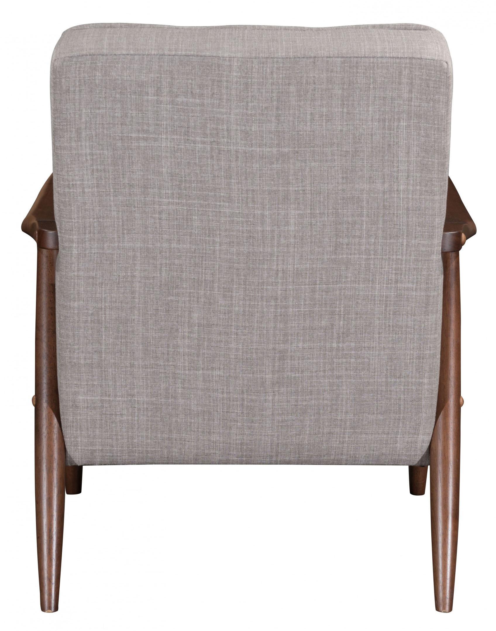 zuo modern rocky arm chair putty