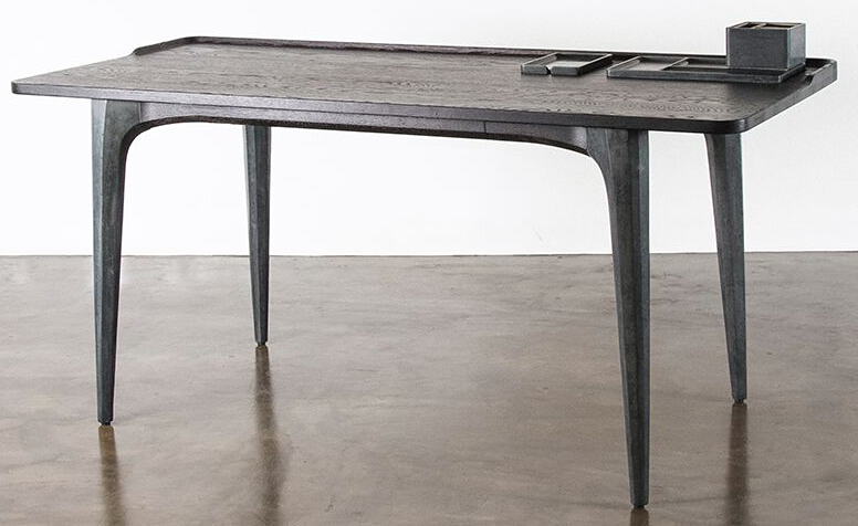 nuevo living salk desk seared oak