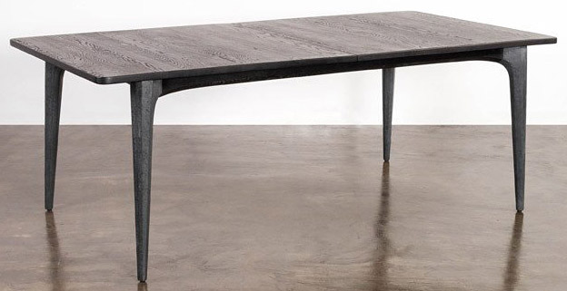 nuevo living salk dining table seared oak