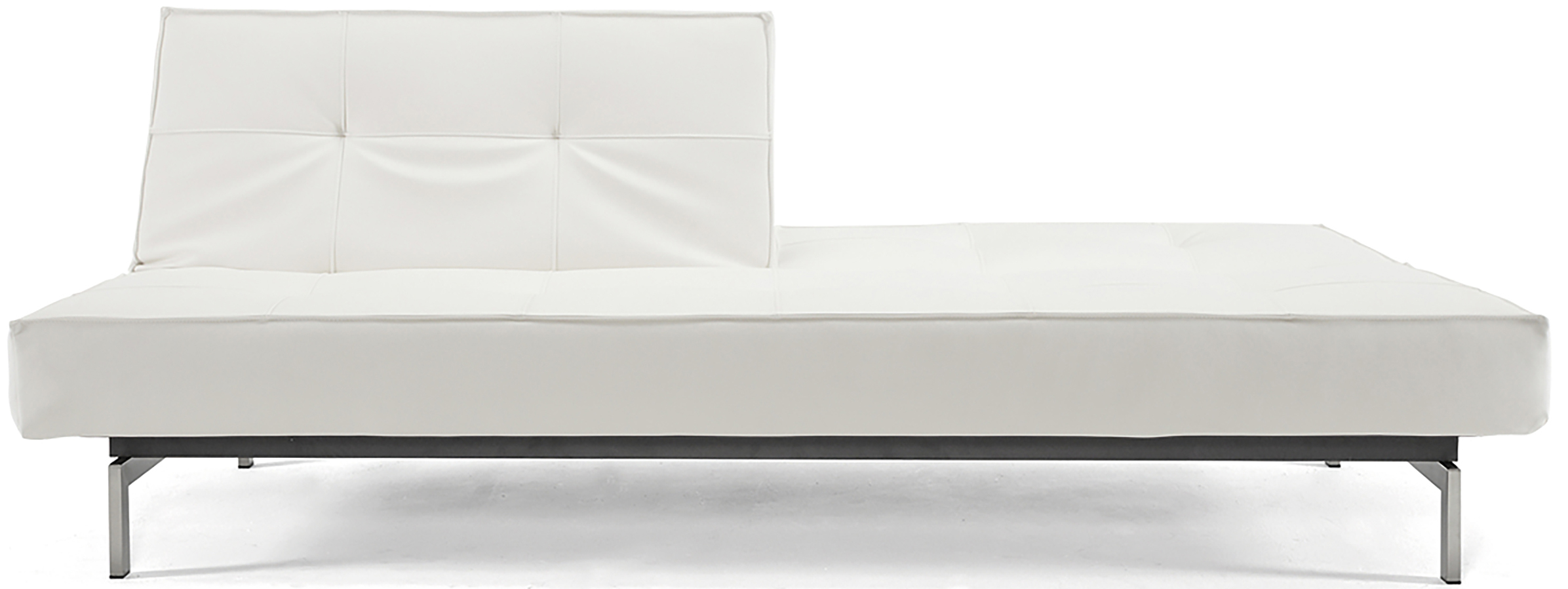 white splitback sofa