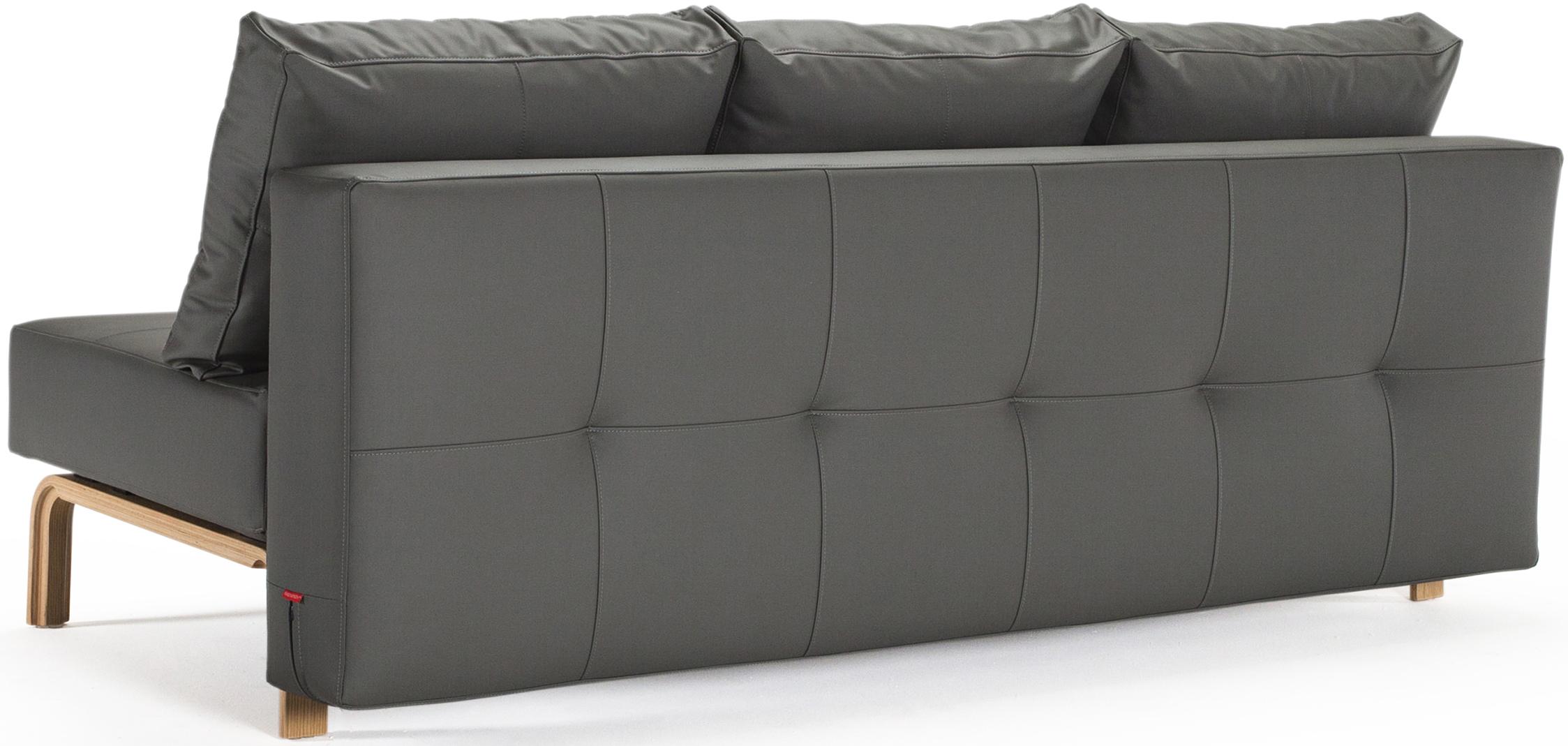 innovation supremax quilt oak sofa